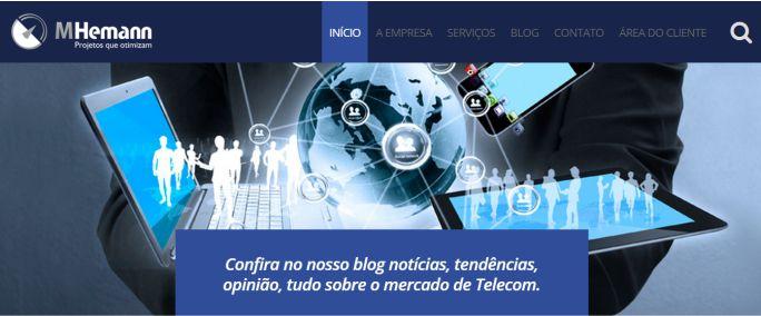 Novidade MHemann – Site novo e Blog repaginado