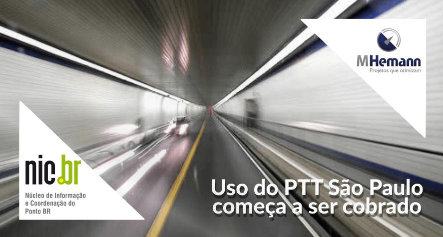 NIC.BR inicia cobranças pelo uso do PTT São Paulo