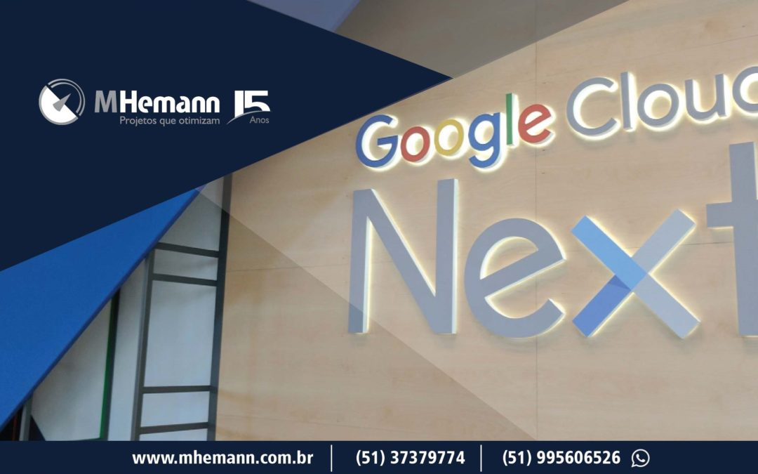 Google Cloud Next '18 é palco de diversos lançamentos da gigante companhia de tecnologia e inovação