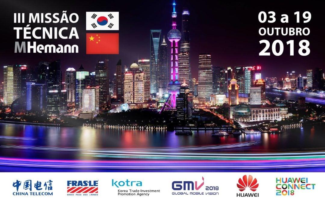 III Missão Técnica MHemann   China – Coréia do Sul 2018  