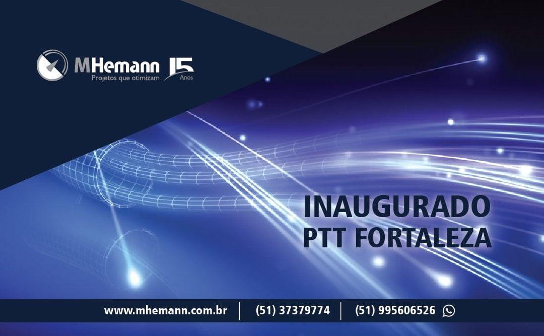 PTT Fortaleza é inaugurado. Novo ponto de troca de tráfego no Ceará poderá ser segundo do país, atrás apenas do IXP São Paulo.