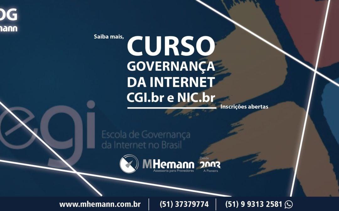 CGI.br está com inscrições abertas para Curso Intensivo de Governança da Internet