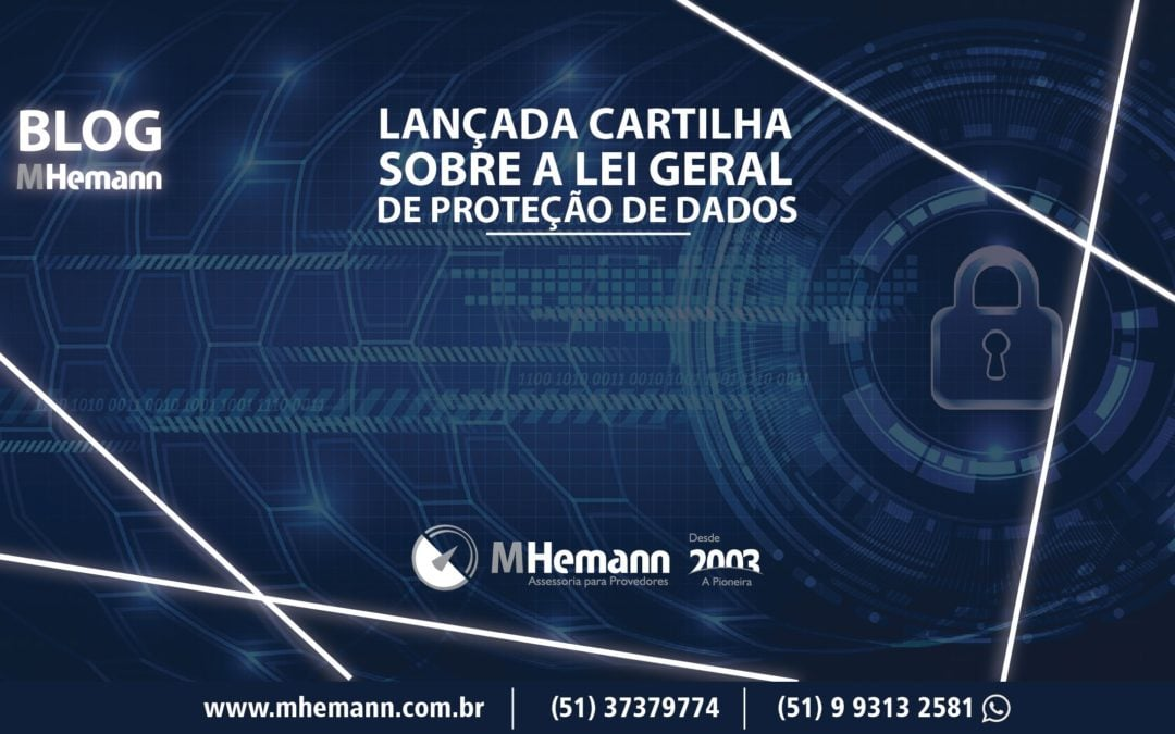 Lançada cartilha sobre Lei Geral de Proteção de Dados pela Camara-e.net . Baixe agora mesmo!