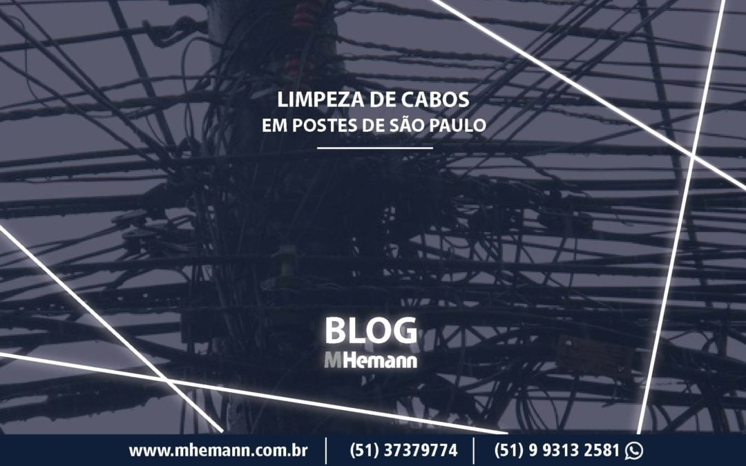 Operação de limpeza dos postes é anunciada em São Paulo. Saiba mais