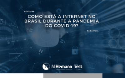 Como está a internet no Brasil durante a pandemia do COVID-19? O Nic.br divulgou uma nota otimista para o país com relação a alta demanda.