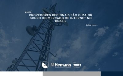 Provedores Regionais são o maior grupo do mercado de internet do Brasil. Acompanhe os dados divulgados pela Anatel
