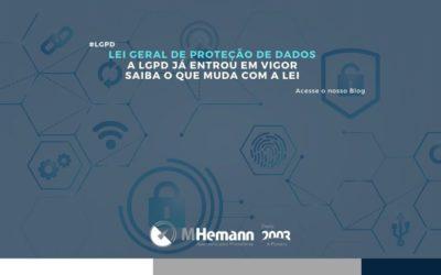 LGPD entra em vigor. Saiba o que muda com a Lei de Proteção de Dados