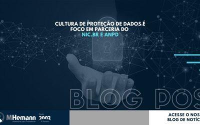 CULTURA DE PROTEÇÃO DE DADOS É FOCO EM PARCERIA DO NIC.BR E ANPD