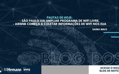 Novidades! São Paulo vai ampliar Programa de WiFi Livre   Airbnb vai coletar informações de WiFi